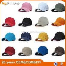 fashion cotton material sandwich visor promotional cap