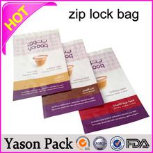 Yason poinconnor hole europ zipper medusa pet al pe bags 8*12 zip lock stand up pouch diablo& gold diablo potpourri and incense