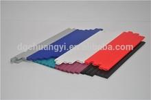 self-adhesive flexible plastic edge trim for furniture