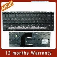 Black Laptop Keyboard for HP 8440P 8460P Laptop Backlit Keyboard
