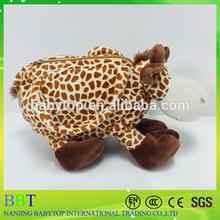 2015 giraffe hand bag of plush toys