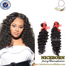Grade 5a deep human hair weave drawn 100% brazilian hair uk best selling products
