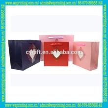 alibaba fashion Custom Silk Screen Birthday Shopping Paper Bag