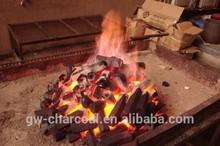 Smokeless charcoal