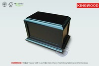 CAMBRIDGE small wooden casket for pet ashes urn manufacturer china