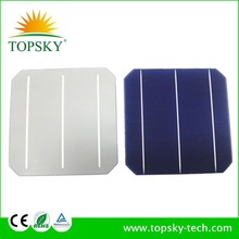 2015 hot sale good quality 6 inch (156x156mm )mono solar cell cheap price with high efficiency