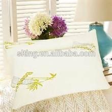 Bamboo Pillow Memory Foam Queen Size with Travel Bag Hypoallergenic Comfort