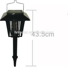 Waterproof portable led solar powered mosquito killer lamp