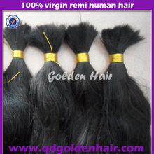Golden Hair Manufacturers Wholesale Wonderful Quality Virgin Brazilian Bulk Hair