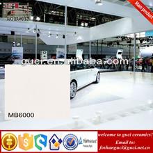 24x24 white full polished glazed porcelain garage floor tiles