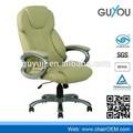Y-2790 ergonómico de alta de nuevo partes silla giratoria de oficina de madera silla de cuero silla de madera