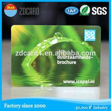 Blank Plastic Inkjet PVC ID Card For Epson Printer