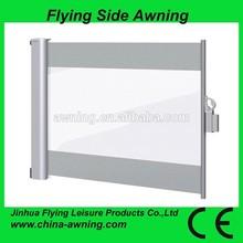 Side Awning /half round awning ,/Aluminum Frame Awning