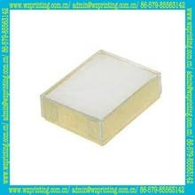 china custom kraft transparent lunch box