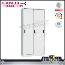 Steel Wardrobe With Sliding Door System