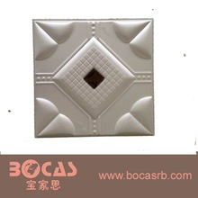 2015 New Leather Foam Soft bag for bed background