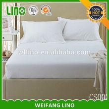 plain white 100% cotton bed sheet/bed sheet brands/bed sheet holder