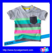 Fashion new kid clothes short sleeves baby boy clothes printing summer kids t shirt