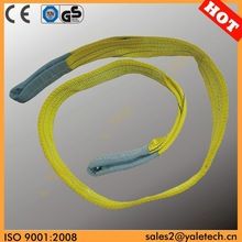 CE and GS approved weight lifting strap/power lifting belts/lifting belt crane