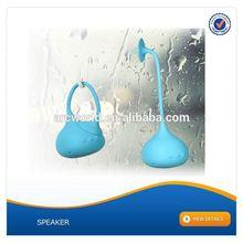 AWS1097 Silicone Handfree Speaker mini waterproof bluetooth speaker suction cup