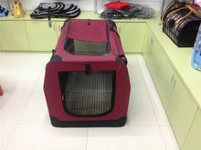 2015 Pet Carrier cage double dog house