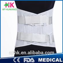 Back Pain Belt Electric Medical Back Support Belt brace with CE & FDA Certificate (Factory)