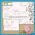venda quente luxo ser imprimir cartão de casamento por atacado