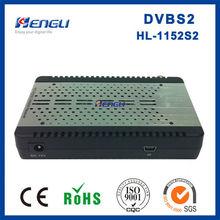 Good quanlity dvb-s2 MPEG4 H.264 digital mini satellite receiver decoder universal sat hd