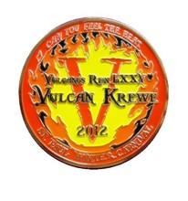 RED GOLD HIGH QUAILTY SOFT ENAMEL Coin