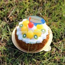 2015 NEW polymer clay mini cake fridge magnet/Yiwu sanqi craft factory