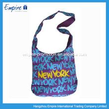 Wholesale custom folding nylon foldable shopping bag