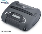 "Woosim rugged 4"" mobile thermal android receipt printer WSP-I450 for smartphone"