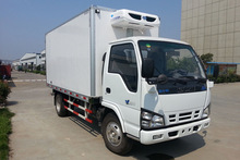 Mini 2 ton japanese used freezer truck