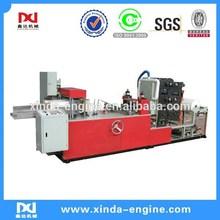 flexo printing napkin folding converting napkin paper 4 color serviette flexo printing machine NP7000A