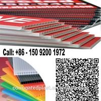 3mm 5mm White Corflute Board Printing