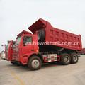 2015 novo sinotruk howo 6x4 mineração caminhão ton 70 mineração/basculante mina/dumper caminhões para venda