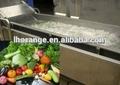 vegetais e frutas máquina de lavar roupa