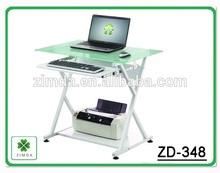 hot selling ikea design white high gloss office desk