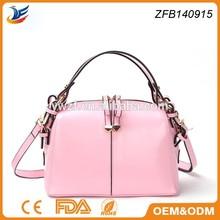100% real leather new design mk fashion handbag