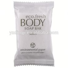 Plastic used in hotel or restaurant hotel amenities