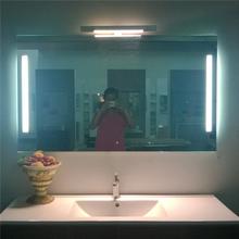 bathroom vanity and lighted mirror ideas