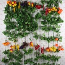 Decorative artificial fruit vines
