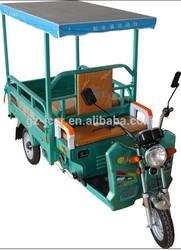 high quality solar power 3 wheel electric cargo rickshaw& electric bike& solar electric car& electric scooter (48V or 60V)