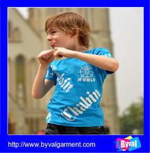 Wholesale fashion child clothing/ custom cheap kids t shirt/children clothing manufacturers china