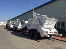 SINOTRUK HOWO 4X2 Arm Type Garbage Truck Heavy Duty Truck