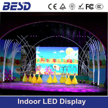 excellent image led video wall, indoor led sign board, full color led nel, p6 led display board indoor