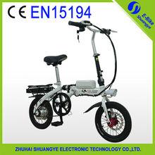 Lovely model folding electric motorcycle 36V250W
