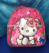 Kitty 3D backpack kindergarten school bag kids Snack pack kitty 3D 2 pictures