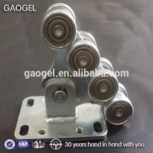 precision plastic roller rims and wheels iron gate wheel 4 wheeler parts
