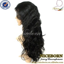 Hot brazilian invisible part wig remy human hair 28 inches brazilian human hair full lace wig